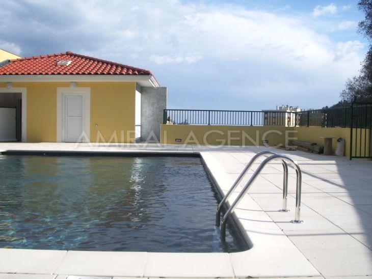 Studio a louer a menton dans residence neuve avec piscine - Residence mohammedia avec piscine ...